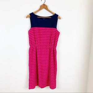 Tommy Hilfiger Sleeveless Dress Pink Polka Dot